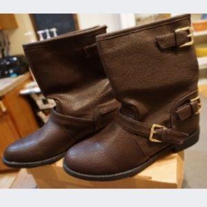 Women's Charles Albert Rainy Day Brown Buck Boots